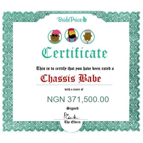 160605_Bride Price Certificate