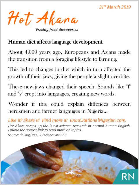 190321_Human diet affects language development_RationalNigerian