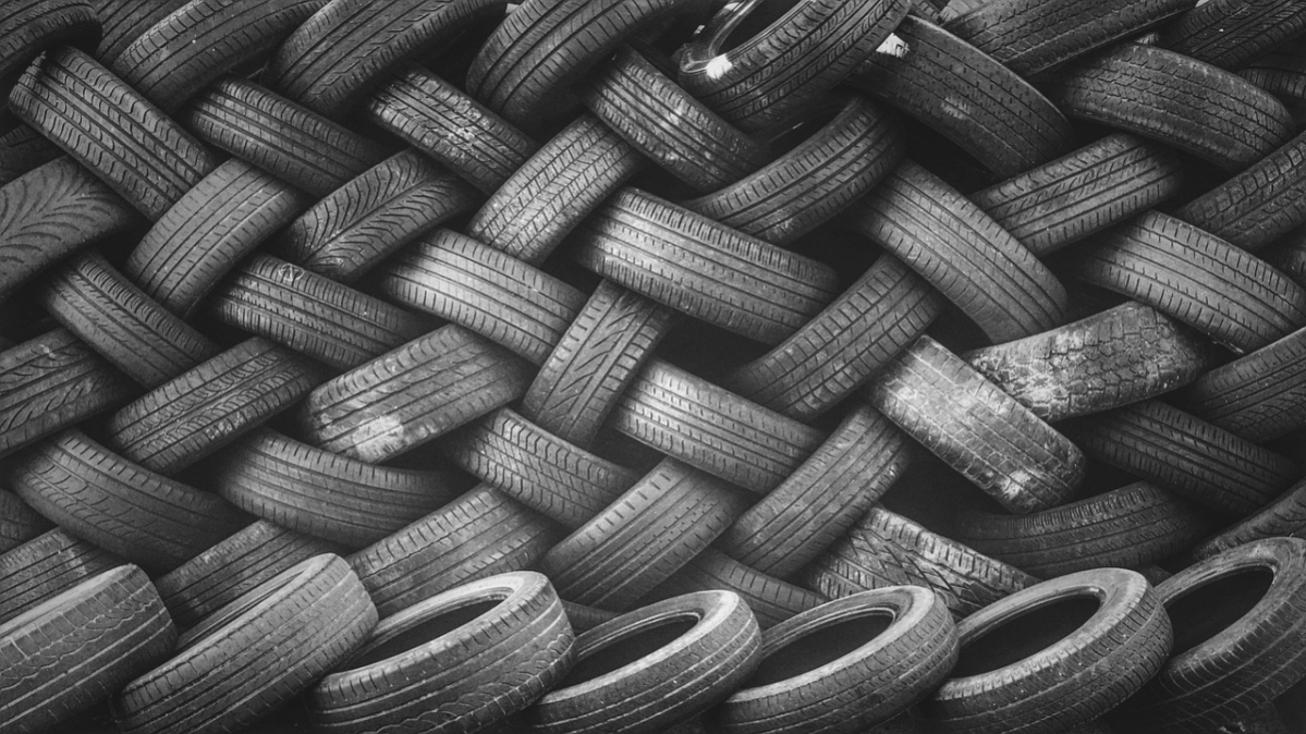 Tyre waste can be used to make mobile phones